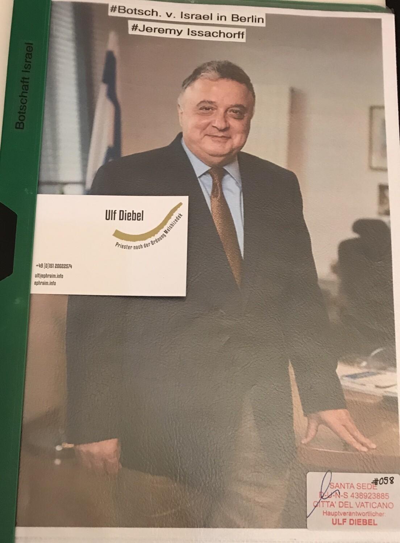 Botschafter Israels in Deutschland Jeremy Issacharoff