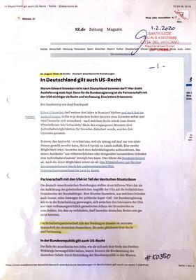 #K0350 l US-Recht in Deutschland l Sz.de