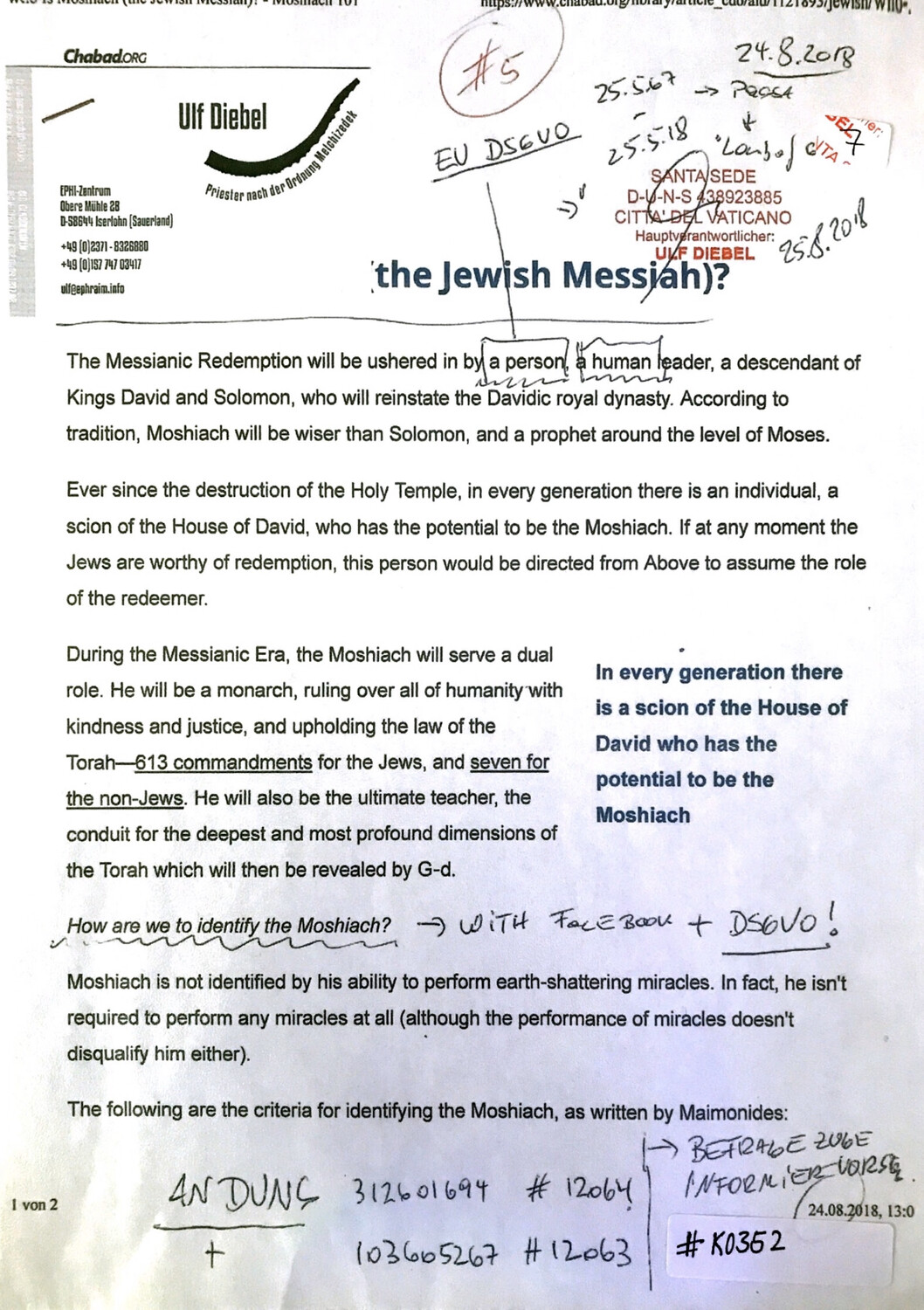 #K0352 l The Jewish Messiah? l Chabad.org