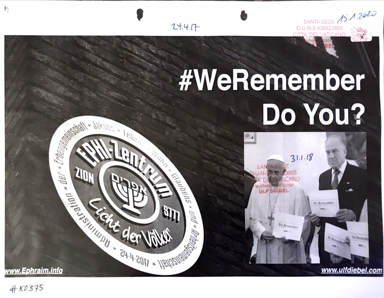 #K0375 l #WeRemember - Do You?