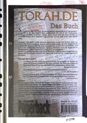 #K0390 l Torah.de - Das Buch