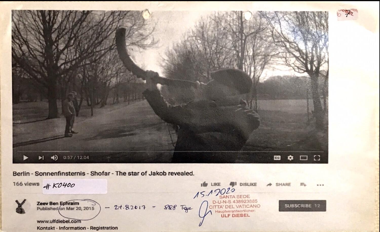 #K0400 l Berlin - Sonnenfinsternis - Shofar - The star of Jakob revealed