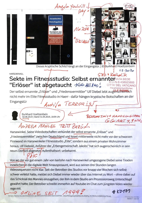 """#K0171 l Harsewinkel - Sekte im Fitnessstudio: Selbst ernannter """"Erlöser"""" ist abgetaucht"""