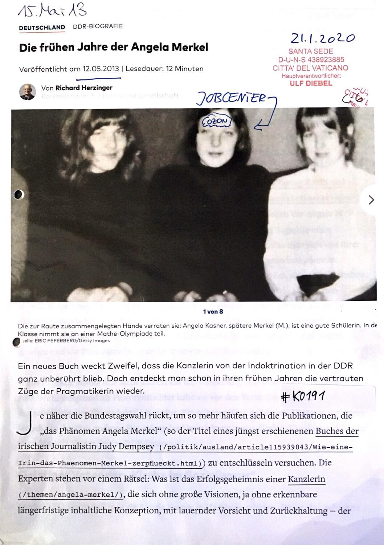 #K0191 l Welt - Die frühen Jahre der Angela Merkel