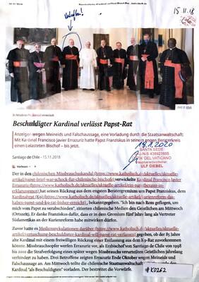 #K0262 l Beschuldigter Kardinal verlässt Papst-Rat