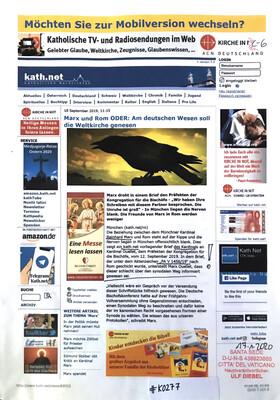 #K0277 l kath.net - Marx und Rom ODER: Am deutschen Wesen soll die Weltkirche genesen
