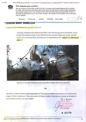 #K0298 l Breaking Israel News - (...)Leaving many homeless