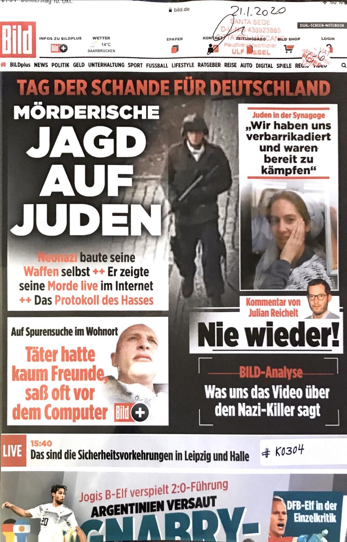 #K0304 l Oktober l Bild - Tag der Schande für Deutschland