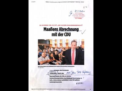 #K0341 l Bild - Maaßens Abrechnung mit der CDU
