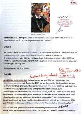 #K088 l Barbara Christa Ludwig - SPD-Politikerin und Oberbürgermeisterin von Chemnitz