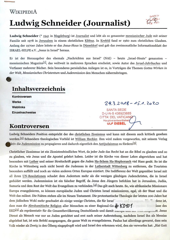#K0101 l Ludwig Schneider - Journalist