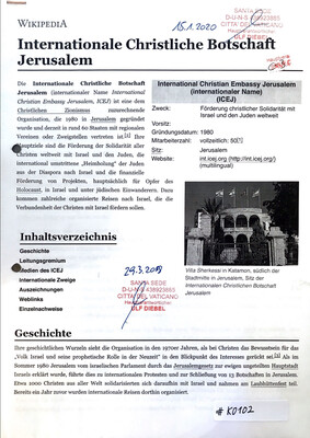 #K0102 l Internationale Christliche Botschaft Jerusalem