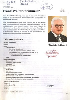 #K0104 l Frank-Walter Steinmeier l SPD-Politiker