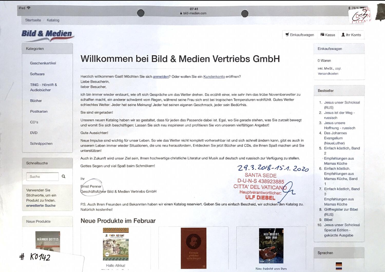 #K0142 l Bild & Medien Vertriebs GmbH - Ernst Penner