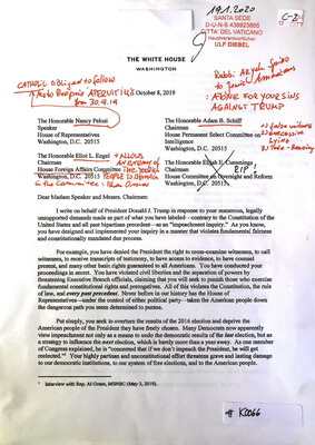 #K0066 l The White House - Interview with Rep. Al Green l The Honorable Nancy Pelosi - The Honorable Eliot L.Engel Chairman