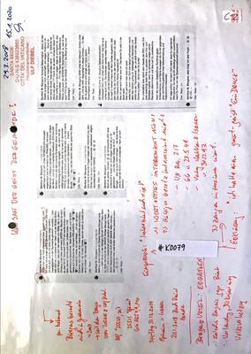 #K0079 l Was sagt der Geist der Gemeinde? - Social Posts von Günther M. Biergans l Antisemitismus