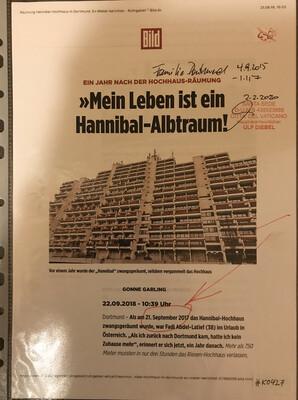 """#K0427 l Bild - Ein Jahr nach der Hochhaus-Räumung """"Mein Leben ist ein Hannibal-Albtraum!"""