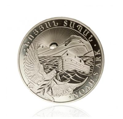 1 Oz Silver Armenia - Arche Noah 1 Unze