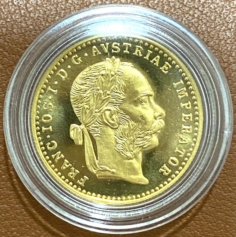 Golddukaten 1F - Österreich NP 1915 -