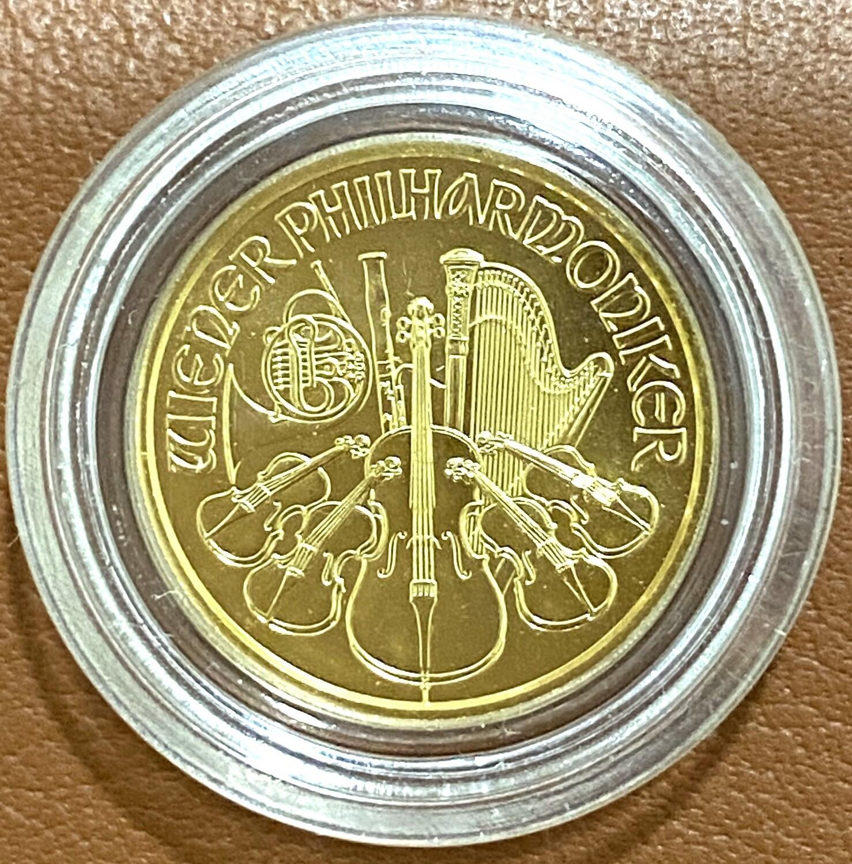 1/10 Unze Gold Philharmoniker