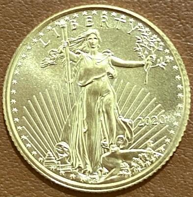 1/10 Unze Gold American Eagle 2020