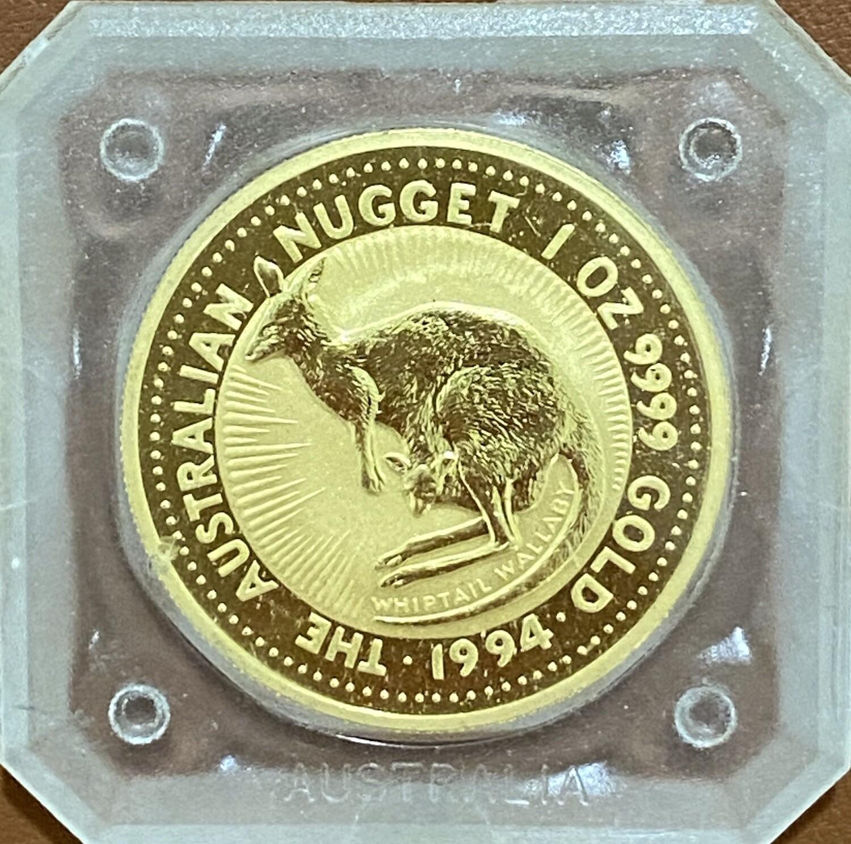 1 Unze Gold Nugget / Kangaroo 1994