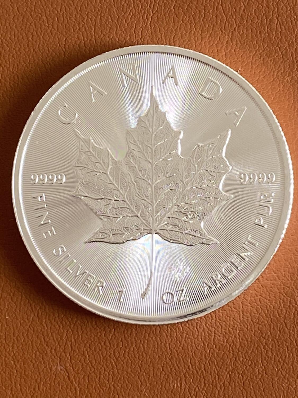 1 Oz Silver Canada - Maple Leaf