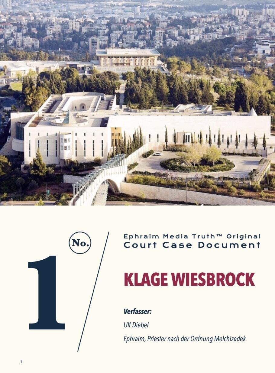 "Gerichtsdokument ""Anklage Wiesbrock"" Amtsgericht Köln"