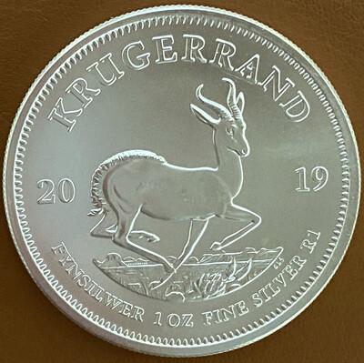1 Oz Silver South Africa - Krugerrand