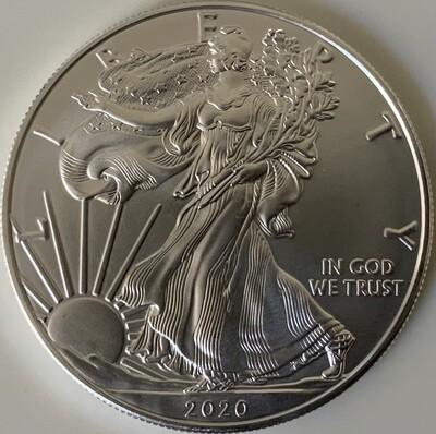 1 Oz Silver USA - American Eagle