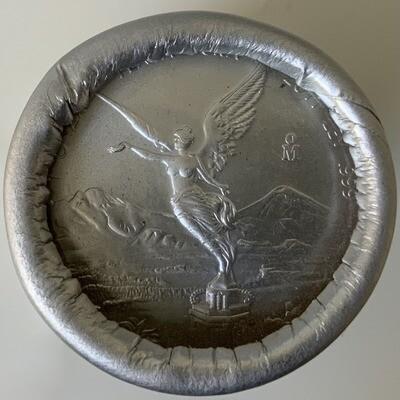 1 Oz Silver Mexico - Libertad 2011 - Original Roll of 20