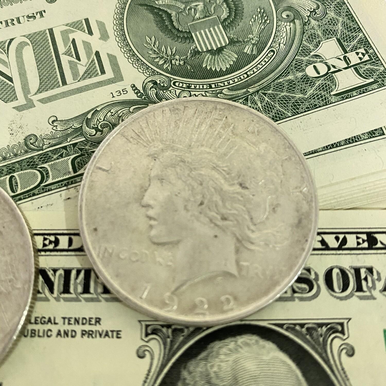 $1 US Peace Dollar