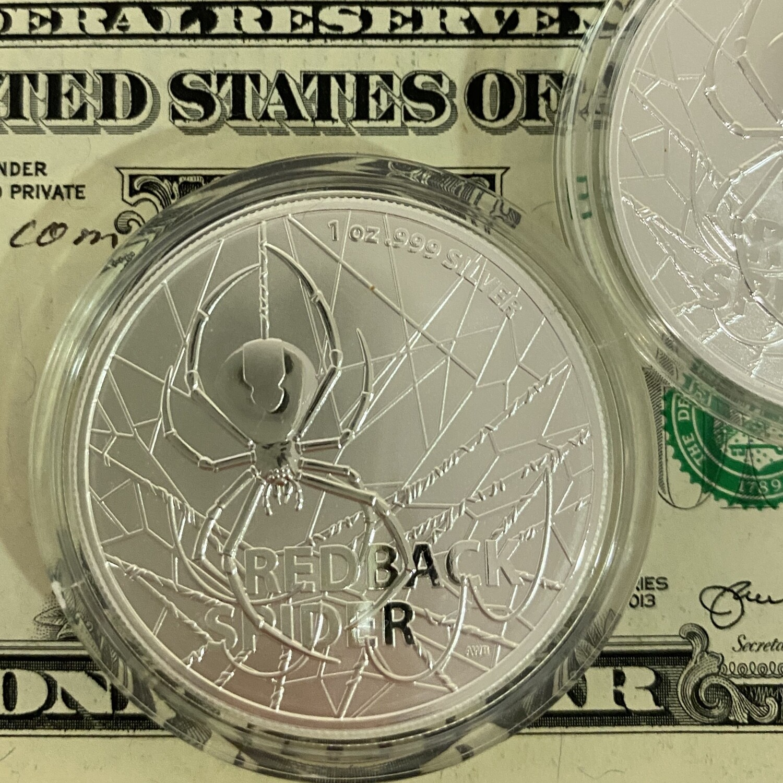 $1 AUS Redback Spider