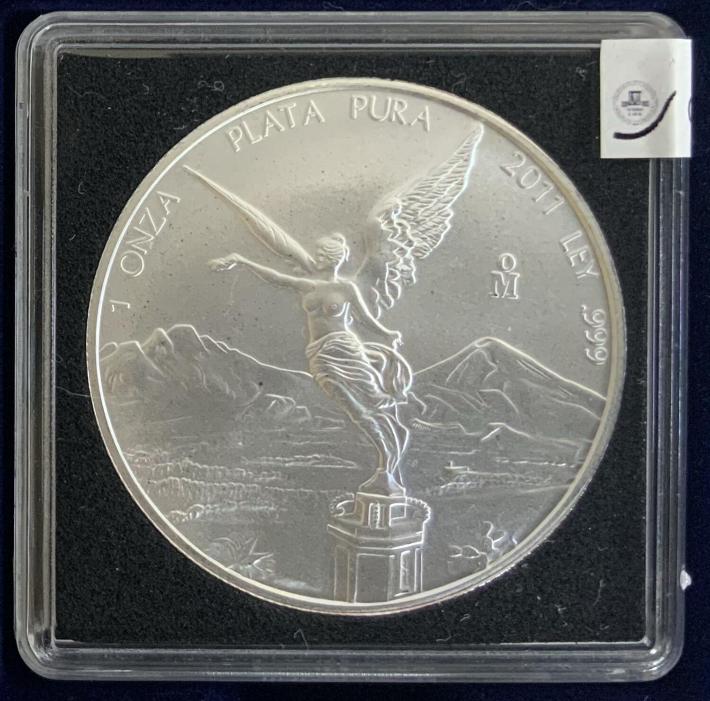1 Oz Silver Mexico - Libertad 2011