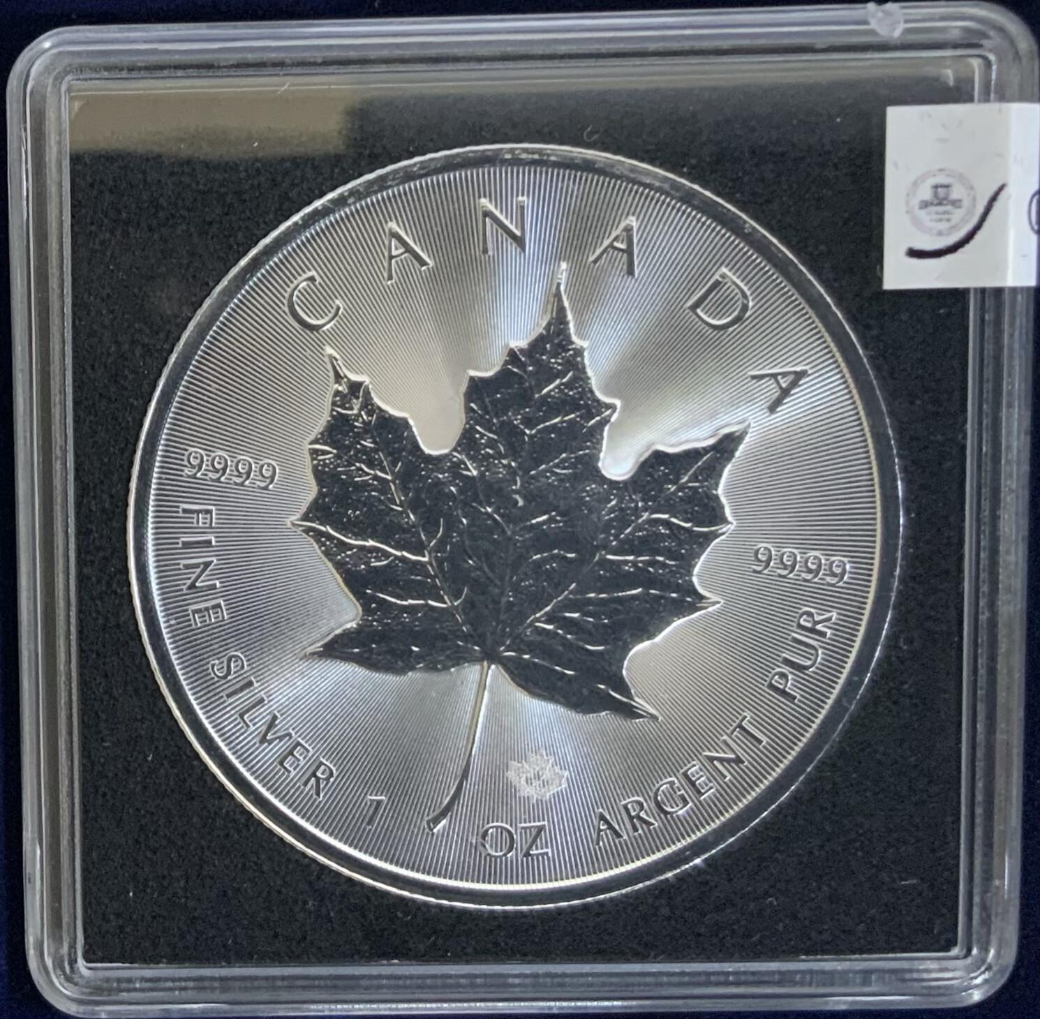 1 Oz Silver Canada - Maple Leaf - 2020