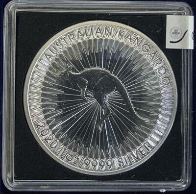 1 Oz Silver Australia - Kangaroo Silver 2020
