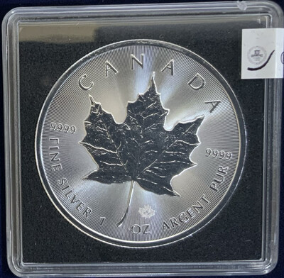 1 Oz Silver Canada - Maple Leaf - 2018