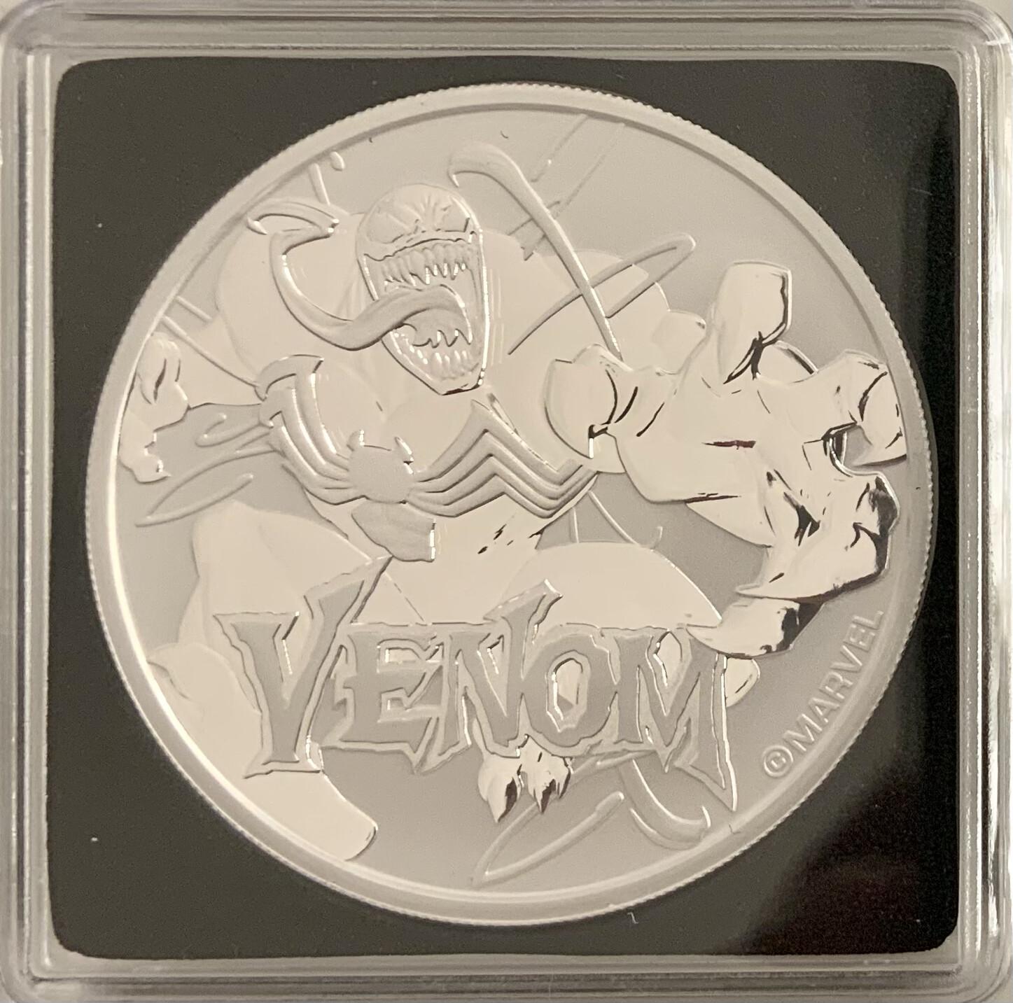 1 Oz Silver - Marvel Venom 2020 - Tuvalu