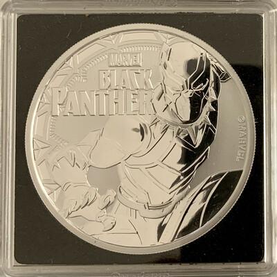 1 Oz Silver - Marvel Black Panther 2018 - Tuvalu