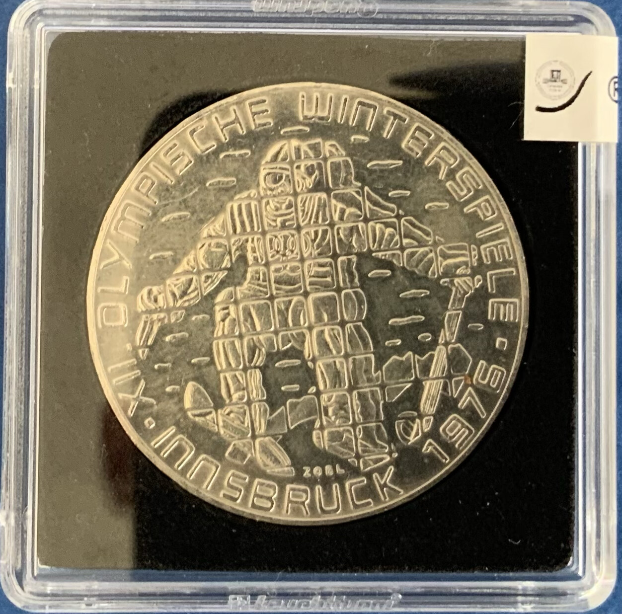 Österreich 100 Schilling XII Olympische Winterspiele Innsbruck 1976