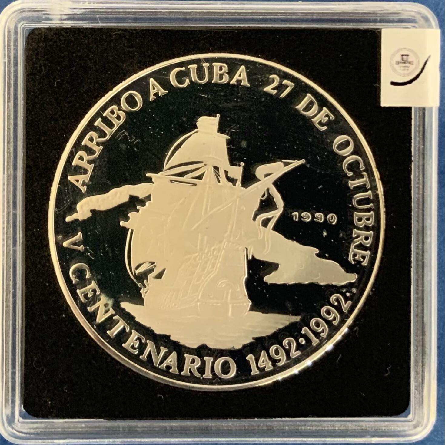 Arrival in Cuba 10 Pesos 1990