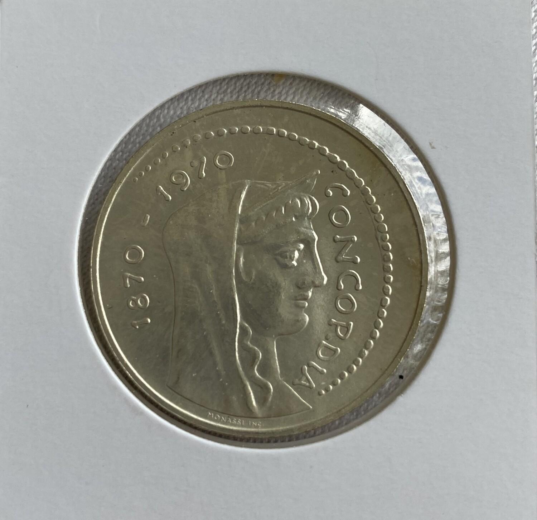 1000 Lire Capital Rome 1970