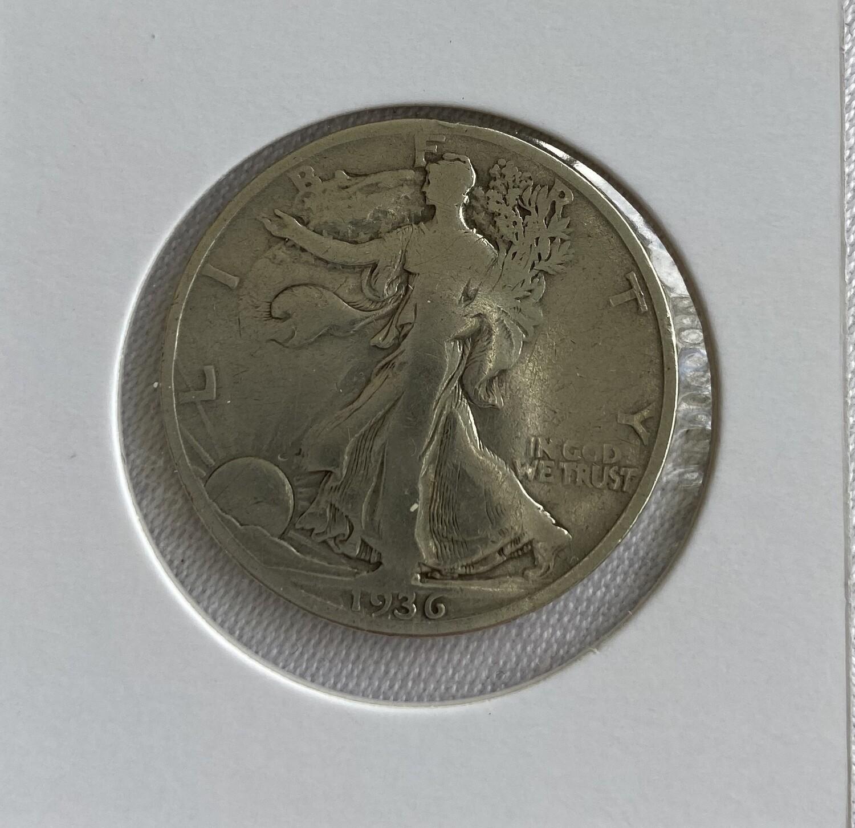USA Half-Dollar 1936 s/ss