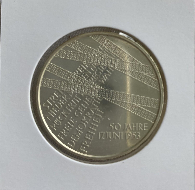 10€ - 50 Jahre 17. Juni 1953