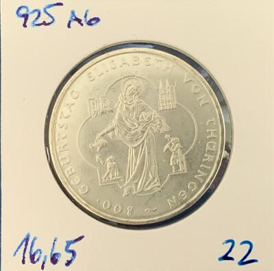 10€ - Elisabeth von Thüringen