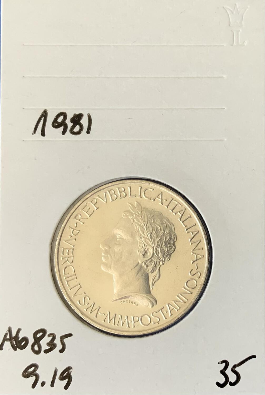 500 Lira Republik Italien 1981