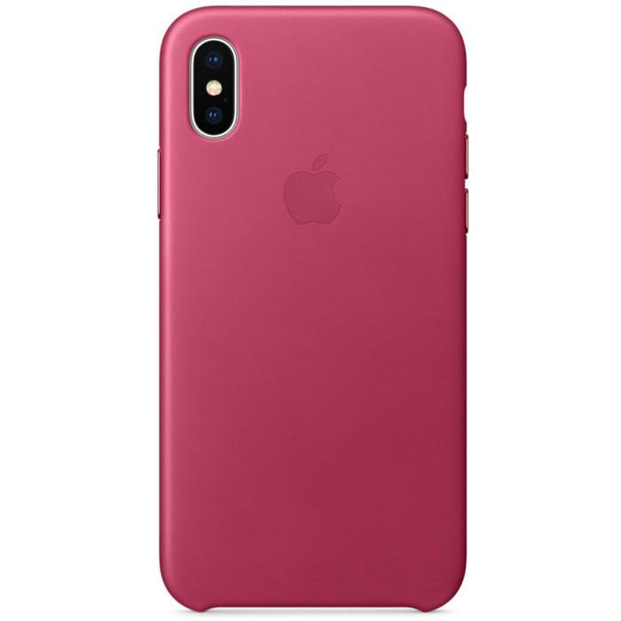 iPhone X Leather Case (Красный)