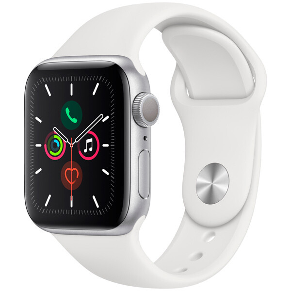 Apple Watch S5 40mm Silver Sport Band
