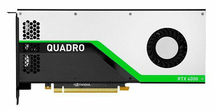 DELL nVidia Quadro RTX4000 , 490-BFCY, 8ГБ, GDDR6