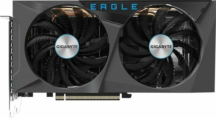 GIGABYTE NVIDIA GeForce RTX 3060 , GV-N3060EAGLE OC-12GD, 12ГБ, GDDR6, OC, Retail